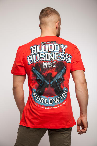 Mafia & Crime Herren T-Shirt BLOODY BUSSINES 583 XL