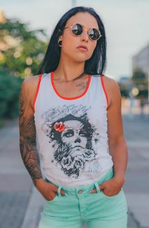 Mafia & Crime Damen T-Shirt Tank Top IN NOMINE 509