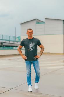 P.Stangl Herren T-Shirt Lion XL