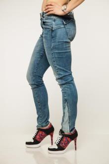 Miracle of Denim Damen Jeans ESTHER Skinny 7/8 W26