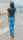 Jewelly Baggy Damen Jeans Stretch Denim Skinny JW6221 M/38