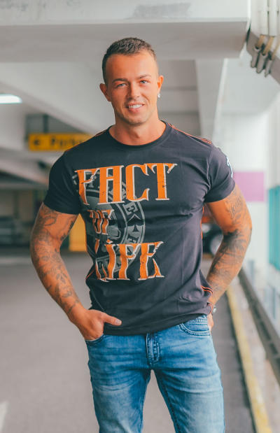 Fact of Life Herren T-Shirt Inkbunny