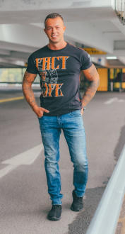 Fact of Life Herren T-Shirt Inkbunny 2XL