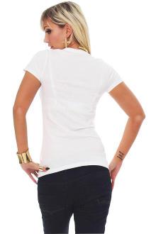 Tee Library Damen T-Shirt Longing L