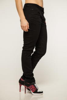 Buena Vista Damen Jeans Hose Anna C Stretch Twill black