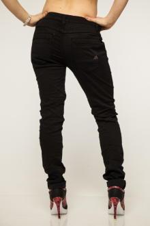 Buena Vista Damen Jeans Hose Anna C Stretch Twill black XXS