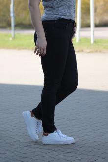 Buena Vista Damen Jeans Hose Tummyless stretch black XXS
