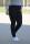 Buena Vista Damen Jeans Hose Tummyless stretch black S