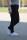 Buena Vista Damen Jeans Hose Tummyless stretch black L