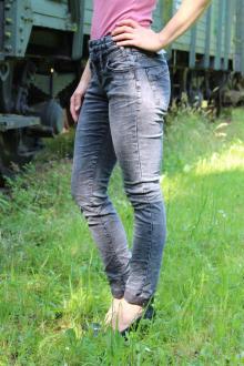 Buena Vista Damen Stretch Jeans Florida used black