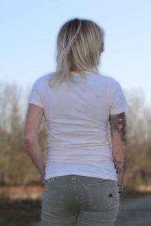 Local Celebrity Damen T-Shirt Kurzarmshirt Shirt BLONDE