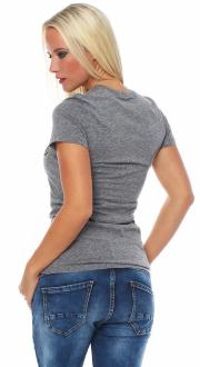 Local Celebrity Damen T-Shirt LIFE IS BETTER BRUNETTE