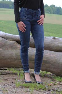 Buena Vista Damen Jeans Florida-Z dark stone