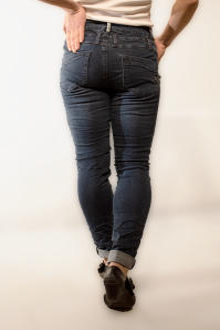 Buena Vista Damen Jeans Florida-Z dark stone L