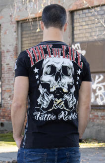 Fact of Life Herren T-Shirt Kurzarmshirt Tattoo Rebels