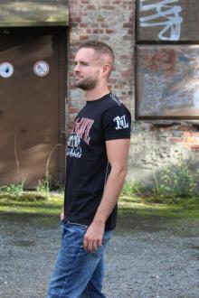 Fact of Life Herren T-Shirt Kurzarmshirt Tattoo Rebels