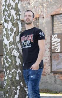 Fact of Life Herren T-Shirt Kurzarmshirt Tattoo Rebels XL
