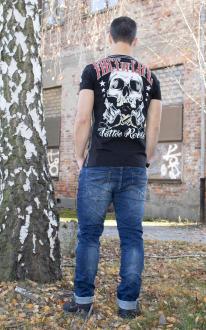 Fact of Life Herren T-Shirt Kurzarmshirt Tattoo Rebels 2XL