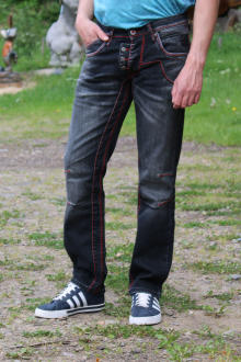 Rusty Neal Herren Jeans dark grey W34