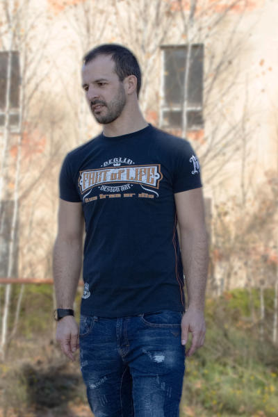 Fact of Life Herren T-Shirt Knock em out 3XL