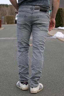 BROOADWAY NYC Herren 5-Pocket Jeans Tyler Grey Wash