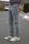 BROOADWAY NYC Herren 5-Pocket Jeans Tyler Grey Wash W32