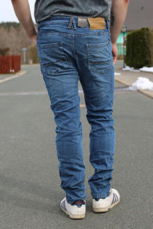 BROADWAY NYC Herren 5-Pocket Jeans Tyler blue wash