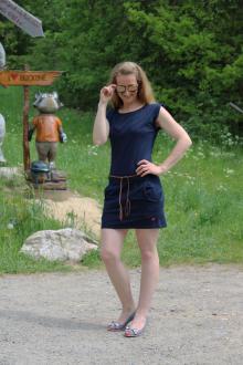 Salzhaut Damen Kleid Denver XS