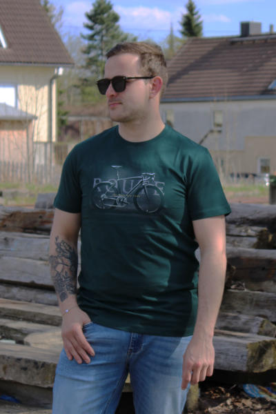 Volcano Herren T-Shirt T-Route grün 3XL