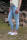 Buena Vista Damen Jeans Kim 7/8 stretch Denim bleach destroy M