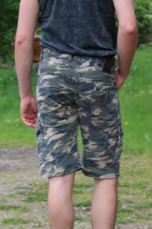 Rusty Neal Herren Bermuda Cargo Shorts