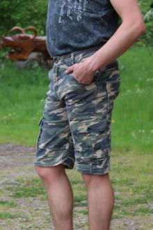 Rusty Neal Herren Bermuda Cargo Shorts Größe L