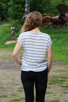 Volcano Damen Blusenshirt T-Shirt K-INDI
