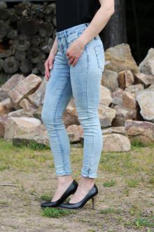 Buena Vista Damen Jeans Florida 7/8 stretch Denim bleach