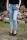 Buena Vista Damen Jeans Florida 7/8 stretch Denim bleach S