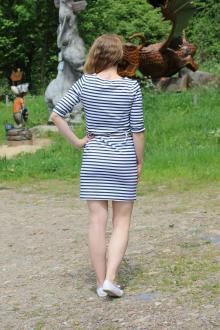 Salzhaut Damen Kleid Sommerkleid Davina