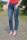Buena Vista Damen Jeans Malibu stretch denim mid stone XXS