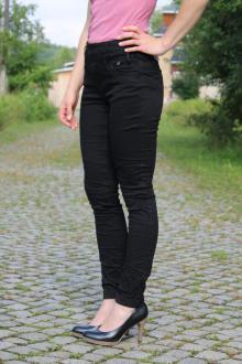 Buena Vista Damen Jeans Florida Stretch Twill schwarz