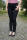 Buena Vista Damen Jeans Florida Stretch Twill schwarz S