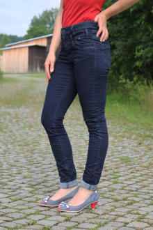 Buena Vista Damen Jeans Florida Stretch Denim raw blue