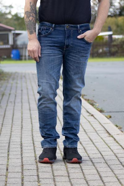 Miracle of Denim Herren Jeans Ricardo Regular Atlas Blue L 34 W 34