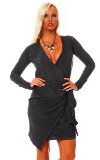 Religion Damenkleid Kleid Dress Langarmkleid Langarmshirt...
