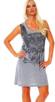 Religion Damen Kleid Dress Trägerkleid Top OWL DRESS