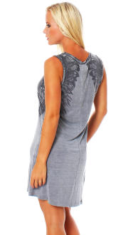 Religion Damen T-Shirt Top OWL DRESS M