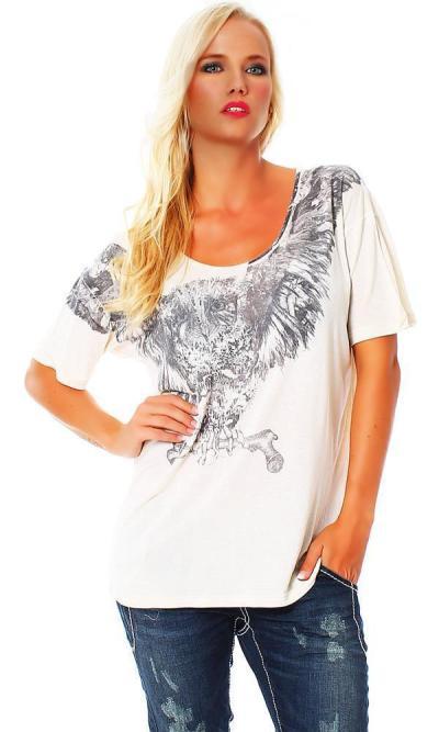 Religion Damen T-Shirt Kurzarmshirt Shirt OWL TEE B142OWT25