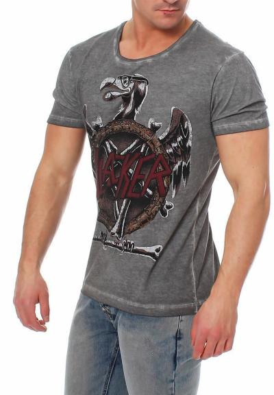 Disturbia Herren T-Shirt Slacker L