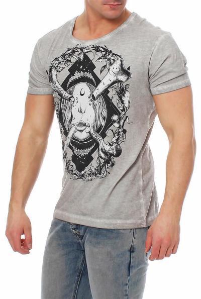 Disturbia Herren T-Shirt Bone-Idol