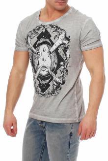 Disturbia Herren T-Shirt Bone-Idol XL