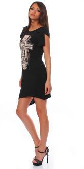 Religion Damen Kleid Damenkleid Dress Partykleid Shirt...