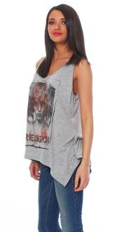 Religion Damen T-Shirt Top SHES LOST L